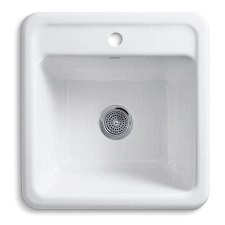 Kohler K 19022 1 Sink Utility Sink Single Basin
