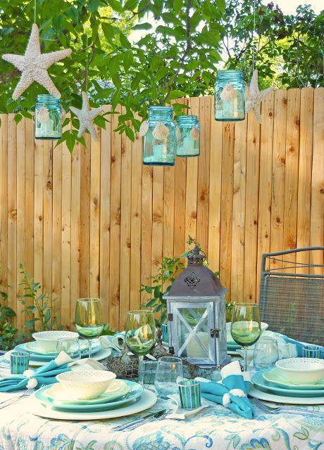 Diy Backyard Ideas For Summer Outdoor Decor Beach Cottage Style