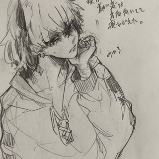 みひろさん mihiro00122 instagram写真と動画 白黒 絵 イラスト 鉛筆 イラスト