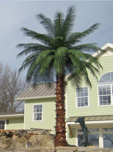 Outdoor Artificial Palm Trees Fake Palm Tree Palm Trees Landscaping Palm Trees For Sale