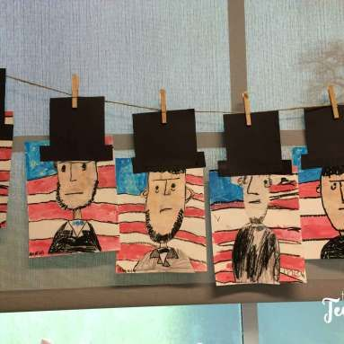Five For Friday Saturday Abraham Lincoln For Kids