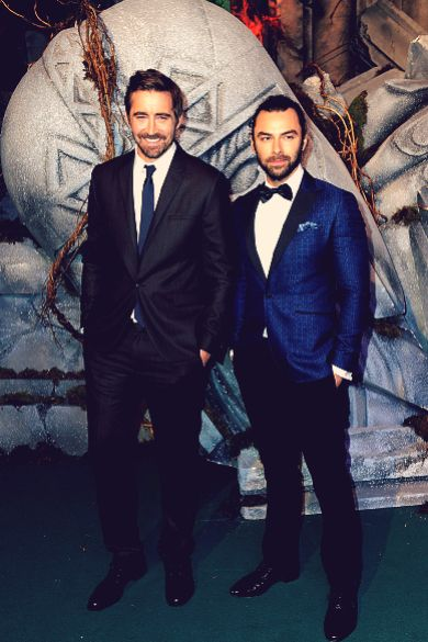 Lee & Aidan @ The Hobbit: BOTFA UK Premiere (2014)