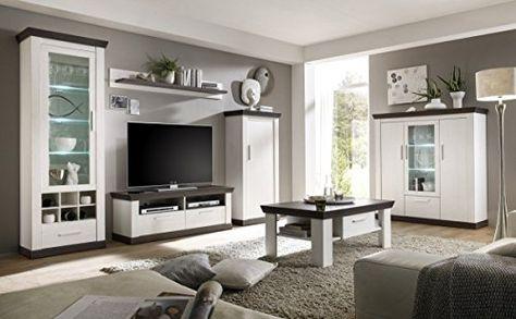 Dreams4Home Couchtisch u0027Tinnumu0027 - Tisch, Sofatisch, Beistelltisch - landhaus wohnzimmer weis