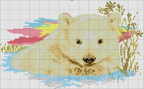 """Anchor /""""SNOWMAN AND BEARS CALENDAR/"""" Counted Cross Stitch Kit"""