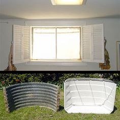 basement window well ideas. Basement Window Well-- Good Ideas To Improve Wells. I Want Paint The Ugly Silver White Reflect More Light Into Basement, Cover Bottom Well E