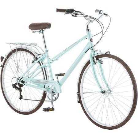 700c Schwinn Admiral Women S Hybrid Bike Mint Green Giftryapp Hybrid Bike Comfort Bicycle Bike Riding Benefits