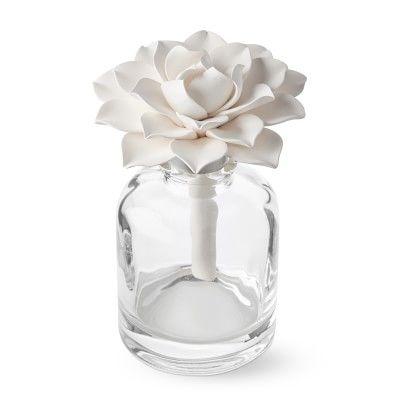 White Gardenia Porcelain Diffuser In 2020 White Gardenia