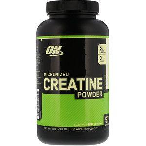 Optimum Nutrition Micronized Creatine Powder Unflavored 10 6 Oz 300 G Iherb Co Micronized Creatine Optimum Nutrition Whey Optimum Nutrition Whey Protein