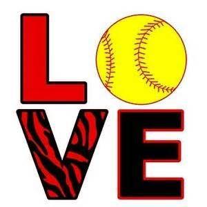I Love Softball Coloring Pages Softball Shirt Designs Softball Tees Softball Clipart