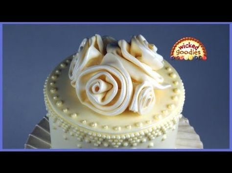 How to Make Easy Modeling Chocolate Roses by Wicked Goodies