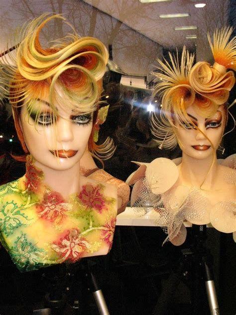 21 Best Mannequin Hair Images On Pinterest Competition Competition Hair Hair Contest Hair Mannequin