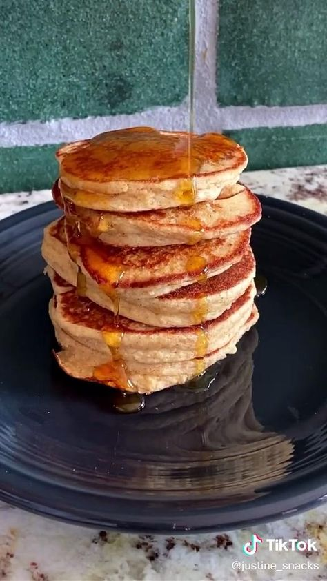 Apple Oat Pancakes