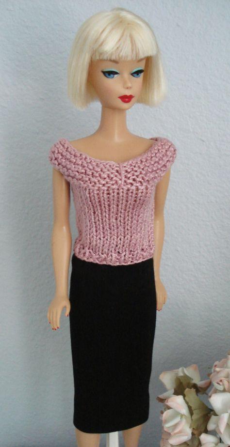 Barbie doll  accessory WHITE SKULL ADORNED BELT