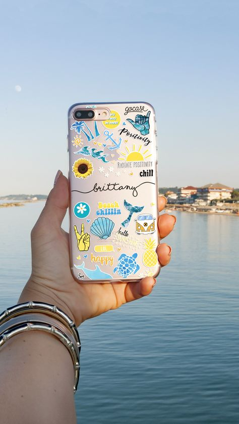 Welcome To Gocase Summer Paradise Diy Phone Case Summer Phone Cases Apple Phone Case
