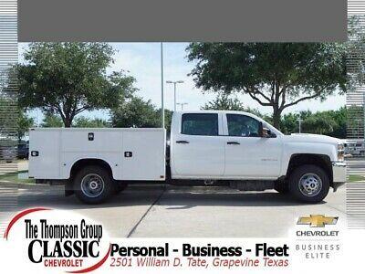 Ebay Advertisement 2019 Chevrolet Silverado 3500 Wt 2019 Chevrolet Silverado 3500hd Wt 20 Miles Summ White Crew Chevrolet Silverado Chevrolet Silverado 3500