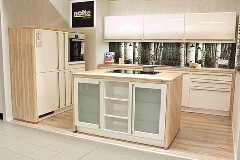 Awesome Kleine Insel, Offene Küche, Nolte Manhattan | Wohnung | Pinterest | Kitchen  Living Rooms, Kitchens And Living Rooms