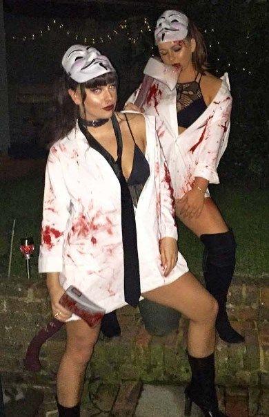 Halloween Costume Ideas For Teenage Girl 2019.Cute Halloween Costumes For Teenage Girl Ideas Horror Best Friends