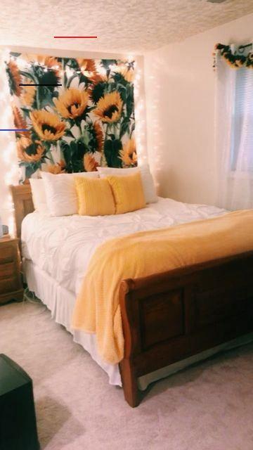Sunflower Room Sunflowerbedroomideas In 2020 Yellow Room