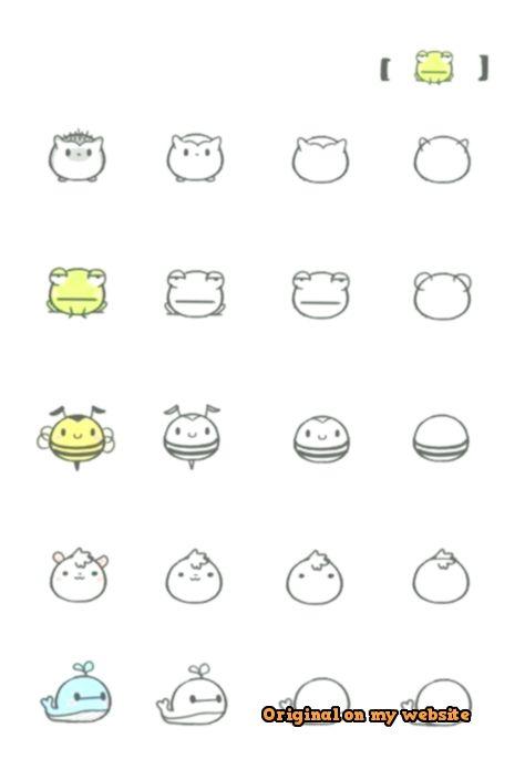 Umpin Space Tiere Zeichnen Zeichnen Anleitung Einfache Niedliche Zeichnungen
