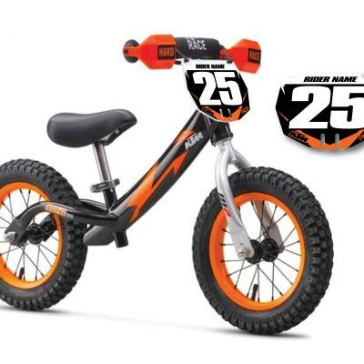 Ktm Kids Training Bike With Free Number Plate Number Plate Kids Training Ktm
