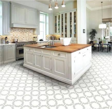 59 Ideas Kitchen Ideas Modern Small White Tiles Kitchen Flooring Kitchen Floor Tile White Kitchen Floor
