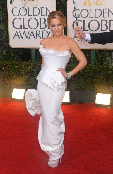 Kate Wearing Marchesa At The Golden Globes, 2010 - Kate Hudson's Most Daring Red Carpet Dresses - Photos