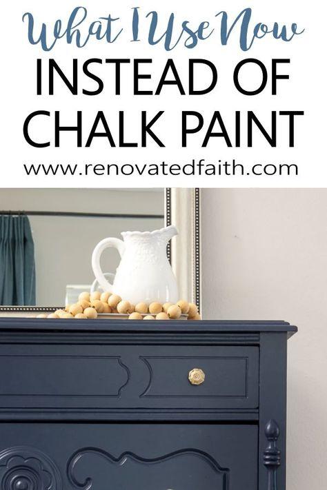 Chalk Paint Desk, Chalk Paint Projects, White Chalk Paint, Chalk Paint Furniture, Furniture Refinishing, Painted Wood Furniture, Painting Furniture White, Paint Colors For Furniture, How To Chalk Paint