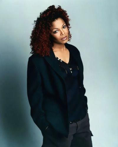 Fanpage For The Queen On Instagram Absolutely Love This Pic Of Janet I Miss Her Red Hair And Septum Piercing Janet Jackson Jackson Natural Hair Styles