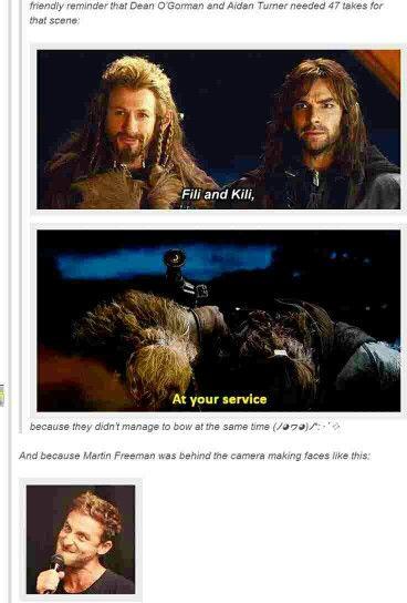 Making the Hobbit.. (: