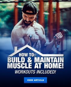 Research shows that you can still build and maintain muscle with little to no gym equipment. Learn the benefits of metabolic stress training and how to incorporate it at home to maximize your workouts. #Workout #Gym #Fitness #Bodybuilding #Fit #Training #Exercise #FitnessMotivation #FitFam #Muscle #Strength #LiftersUnited  Research shows that you can still build and maintain muscle with little to no gym equipment. Learn the benefits of metabolic stress training and how to incorporate it at home