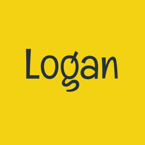 Logan - Gender Neutral Baby Names - Photos