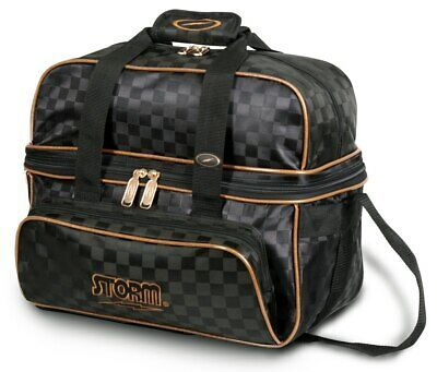 Advertisement Ebay Storm Deluxe 2 Ball Tote Bowling Bag Black Gold Bowling Bags Bags Tote