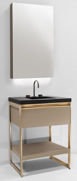 Furniture Guild Avento 24 Inch With Vanity Mirror Minimalist