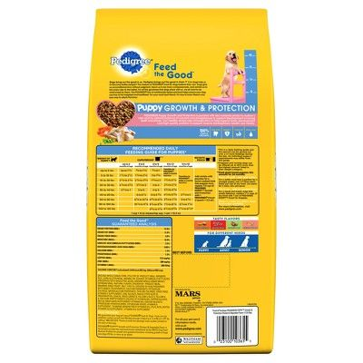 Pedigree Puppy Growth Protection Chicken Vegetable Dry Dog