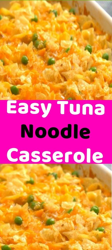 Easy Tuna Noodle Casserole Tuna Noodle Casserole Noodle Casserole Chicken Crockpot Recipes
