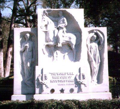 Sam Houston's Grave - Huntsville, TX