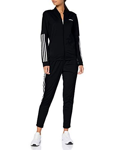 adidas Damen Back2Basics 3 Streifen Trainingsanzug Black