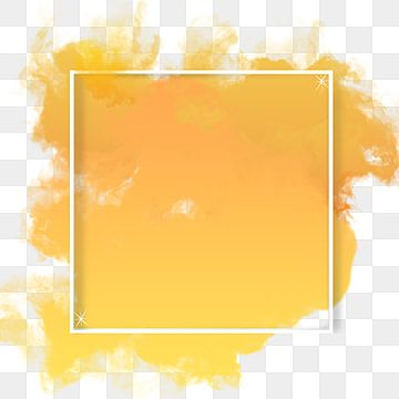 Yellow Abstract Frame Color Free Png And Psd Smoke Frame Text Png Transparent Clipart Image And Psd File For Free Download Abstract Paint Splash Background Paint Background