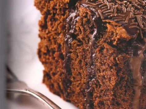Bolo De Chocolate Com Calda Da Ana Maria Receita Bolo Maluco