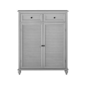 Home Decorators Collection Distressed Grey Shoe Storage Cabinet For 24 Shoes 9200610270 The Home Depot In 2020 Closet Shoe Storage Shoe Storage Cabinet Shoe Storage