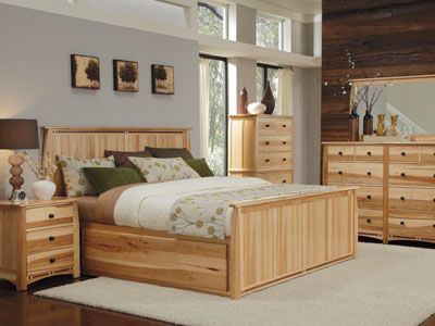 Amish Hickory Bedroom Furniture | Bedroom Furniture: Master ...