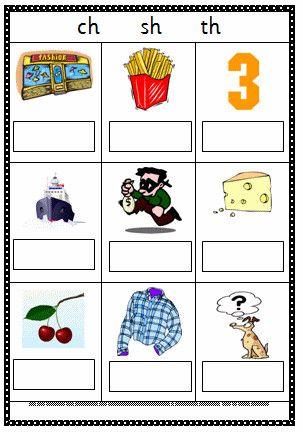 100 Sh Digraph Worksheets Phonics Worksheets Free Phonics Worksheets English Phonics Sh and ch worksheets