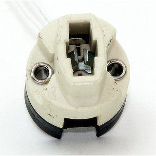 G9 Hochvolt Halogen Lampenfassung Mit 15cm Ptfe Leitung Fassung Lampe Wolle Kaufen