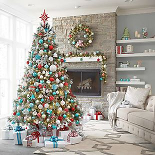 Home Depot 30 40 Off Area Rugs Home Depot Christmas Decorations Teal Christmas Decorations Colorful Christmas Tree