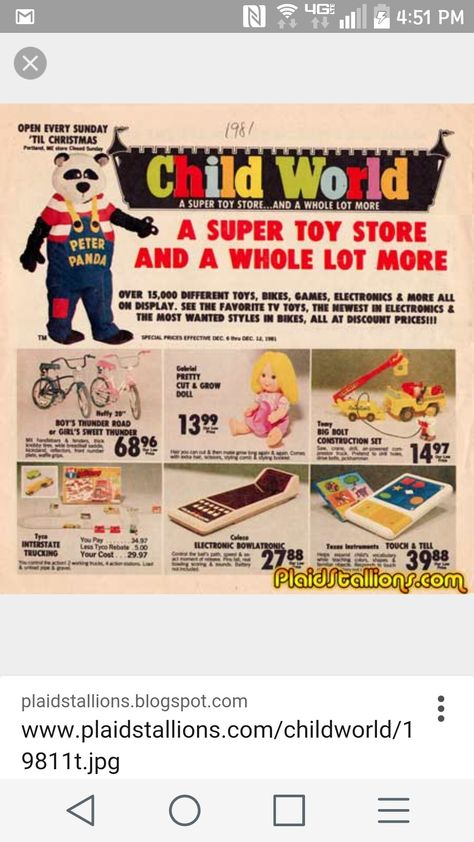 Toy Shop Advertisement Poster