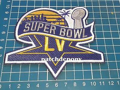 2021 Superbowl Lv 55 Patch Tampa Bay Florida Nfl Football Championship Game In 2020 Super Bowl Nfl Football Championship Game