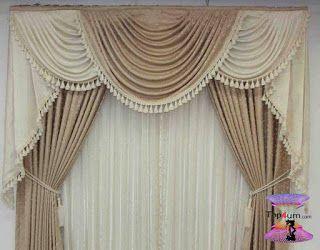 احدث كتالوج صور ستائر صالونات بتصميمات مودرن وكلاسيك 2020 Top4 Curtains Decor Valance Curtains