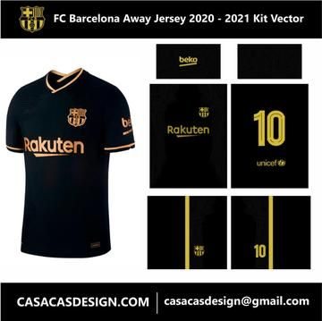 The Best Fc Barcelona Jersey 2020 Away