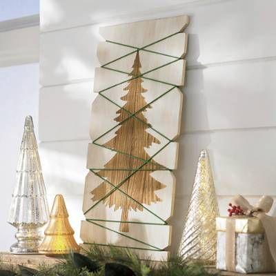 Tree Card Holder Grandin Road Handmade Christmas Gifts Diy Diy Christmas Gifts Cheap Christmas Card Display