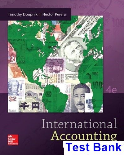 Best 25 international accounting ideas on pinterest sands international accounting 4th edition doupnik test bank test bank solutions manual exam bank fandeluxe Image collections